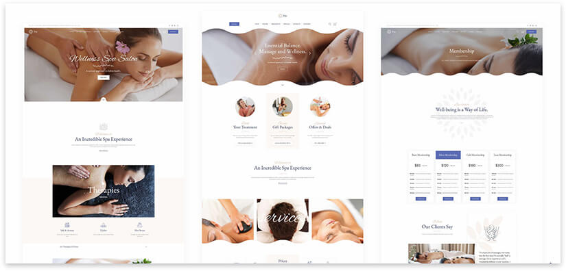 spa salon theme wordpress