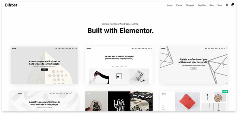 Сайт минимализм