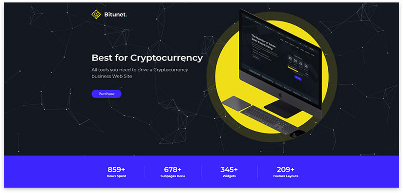 bitcoin вордпресс тема