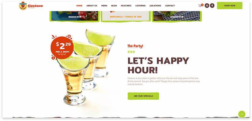 Мексиканский бар