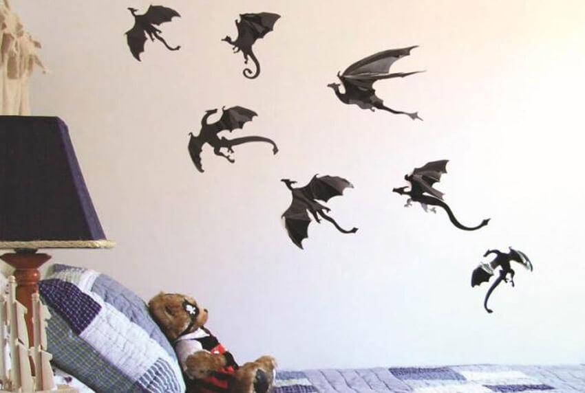 3д драконы