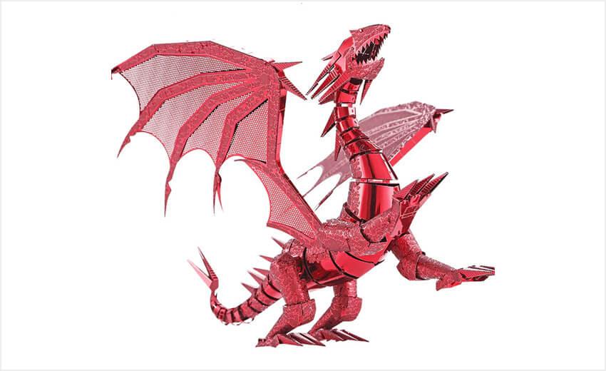 3д дракон