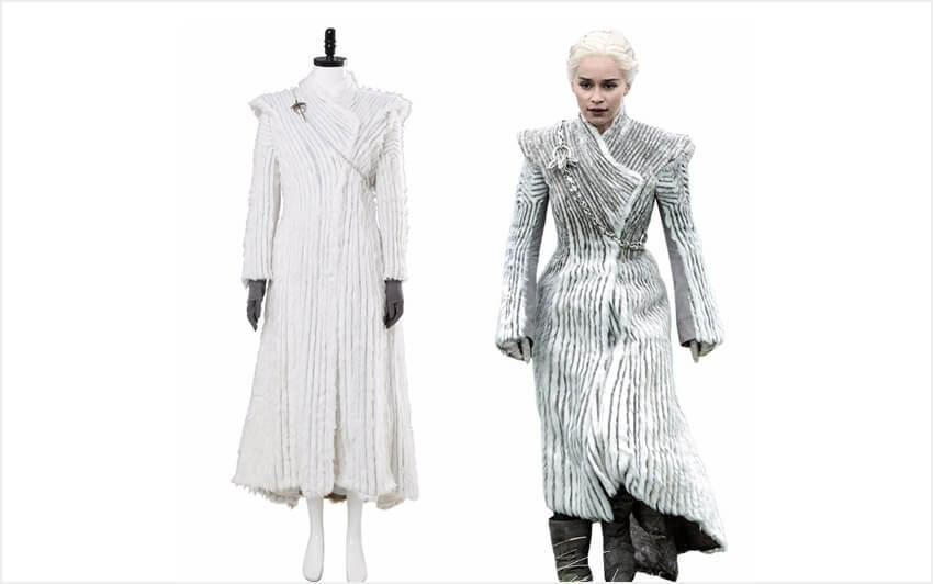 Зимнее платье Дейнерис