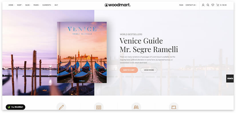 сайт для продажи книги