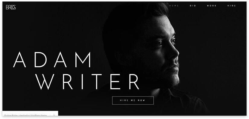 Сайт для писателя