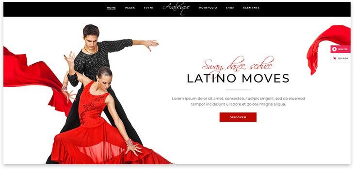 Латиноамериканские танцы сайт