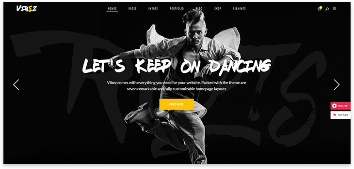 hip-hop танцы шаблон