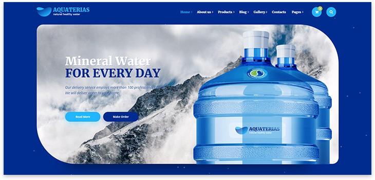 wordpress water