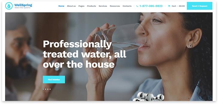 Сайт про воду