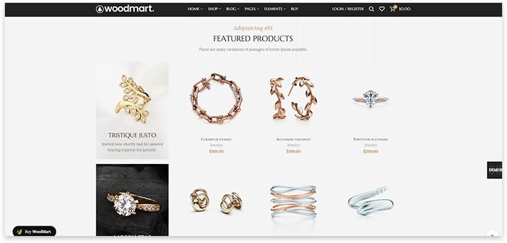 woodmart тема для сайта