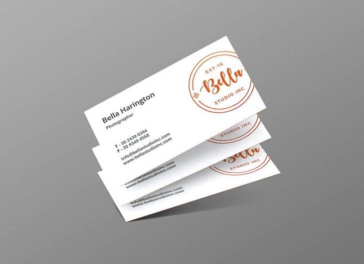 Business card mockup #6