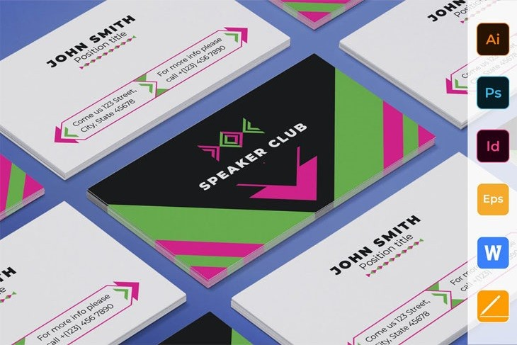 Speaker Business Card