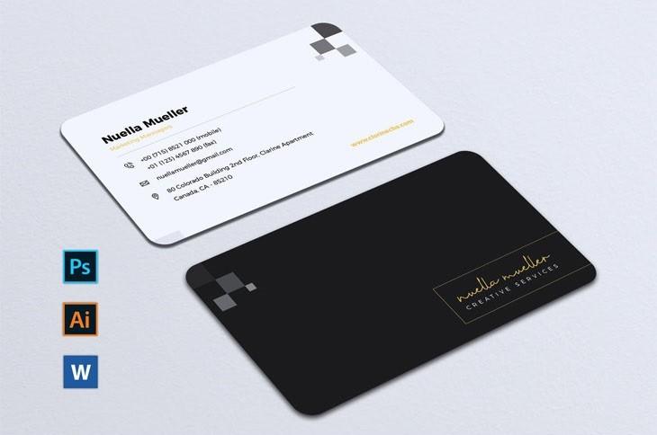 Minimalist Business Card Vol. 07