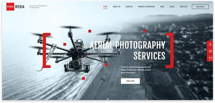 Сайт про дроны