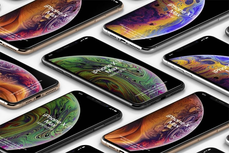 Psd iPhone XS Max Mockup Vol1