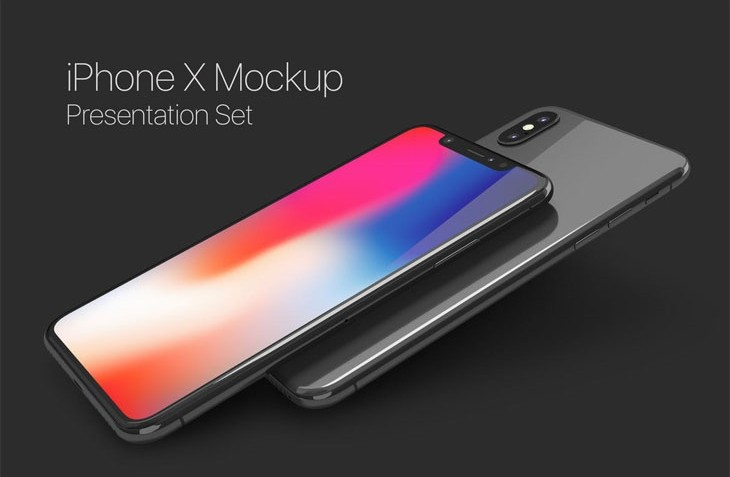 iPhone X Mockup Set
