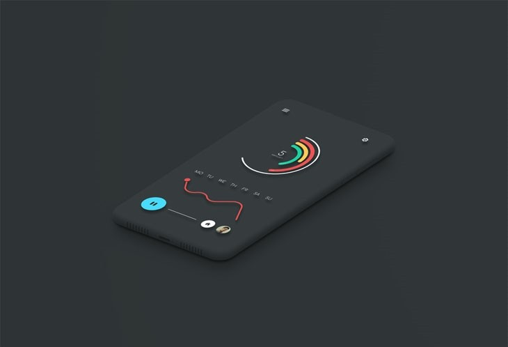 Minimal Smartphone Mockup