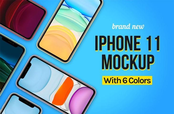 iPhone 11 Mockup 01