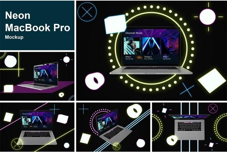 Neon MacBook Pro
