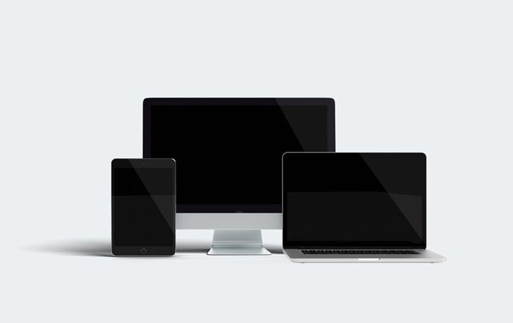 Responsive Design Devices Mockup