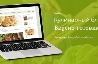 Кулинарный блог на Вордпресс