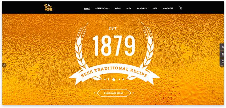 craft пиво вордпресс
