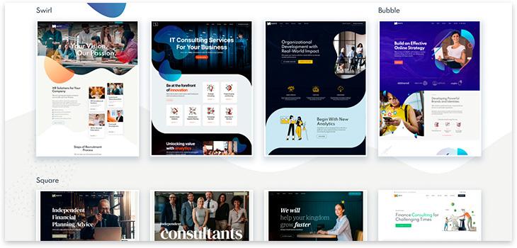 Шаблон сайта бизнеса