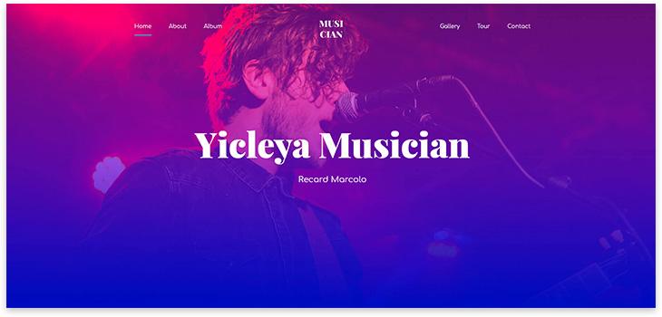 15 шаблонов для музыкального сайта на WordPress 2021