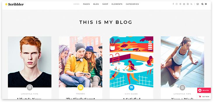 Тема для блога 2021