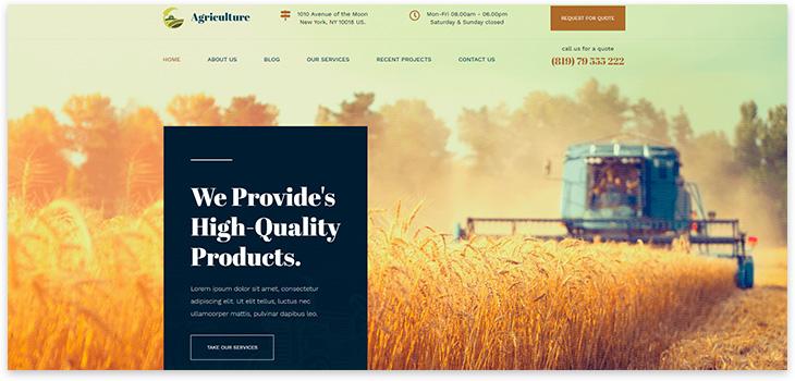 фермерские продукты сайт сделать