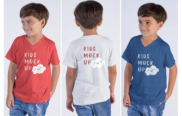 Детская рубашка Mock Up