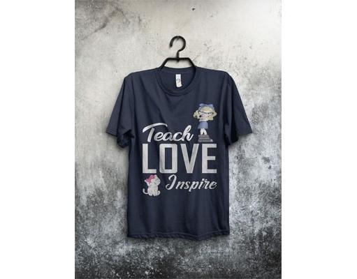 Teacher T-shirt Template