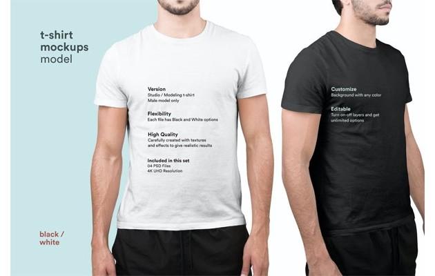 Макеты футболок