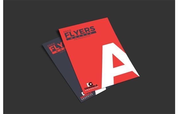 Free Flyers Mockup For Presentation