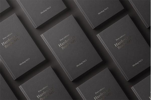 Psd Book Mockup Hardcover Vol3