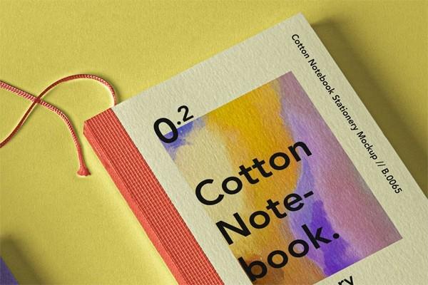 Booklet Notebook Psd Mockup Set