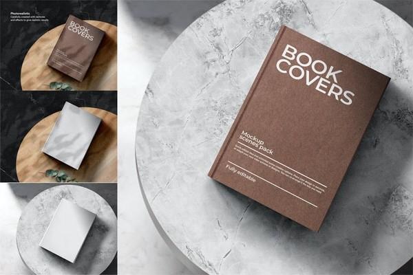 Книжный макап