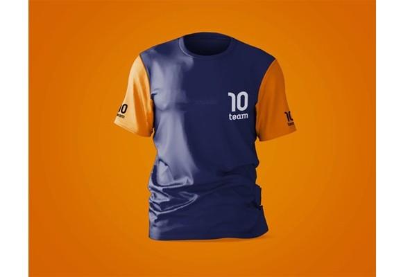 Макет спортивной рубашки с логотипом бренда