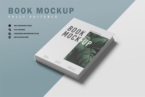 Книга Мокуп V.4