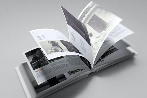 US Landscape Book Mockup