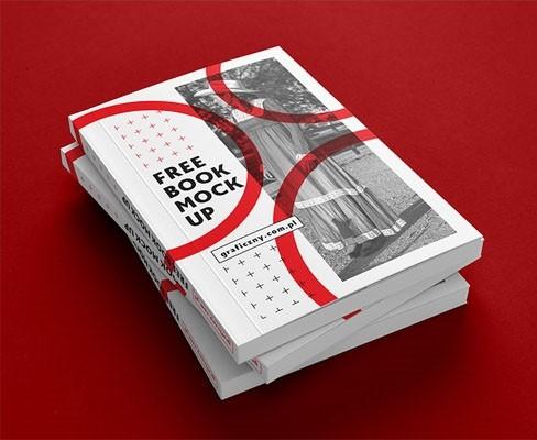 Book, brochure mock-up