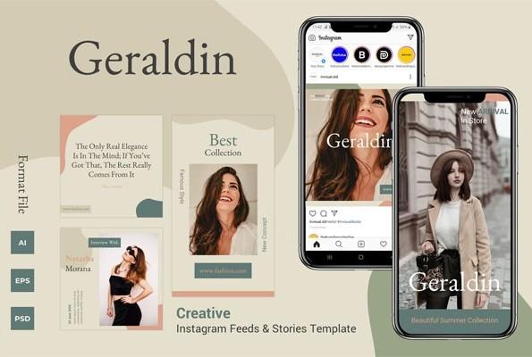 Geraldin - Инстаграм ленты и истории