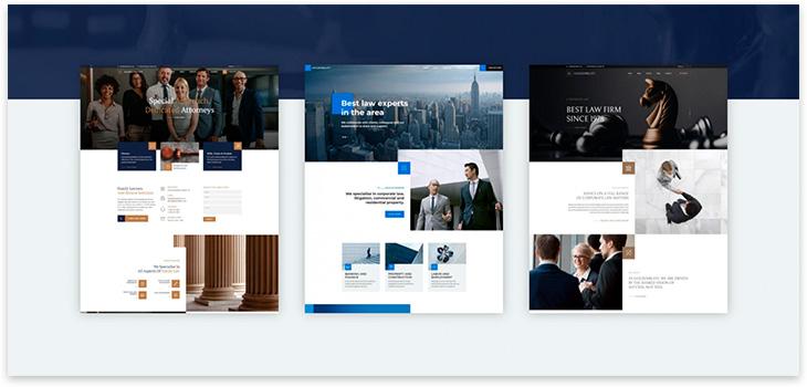 Шаблон юридической фирмы