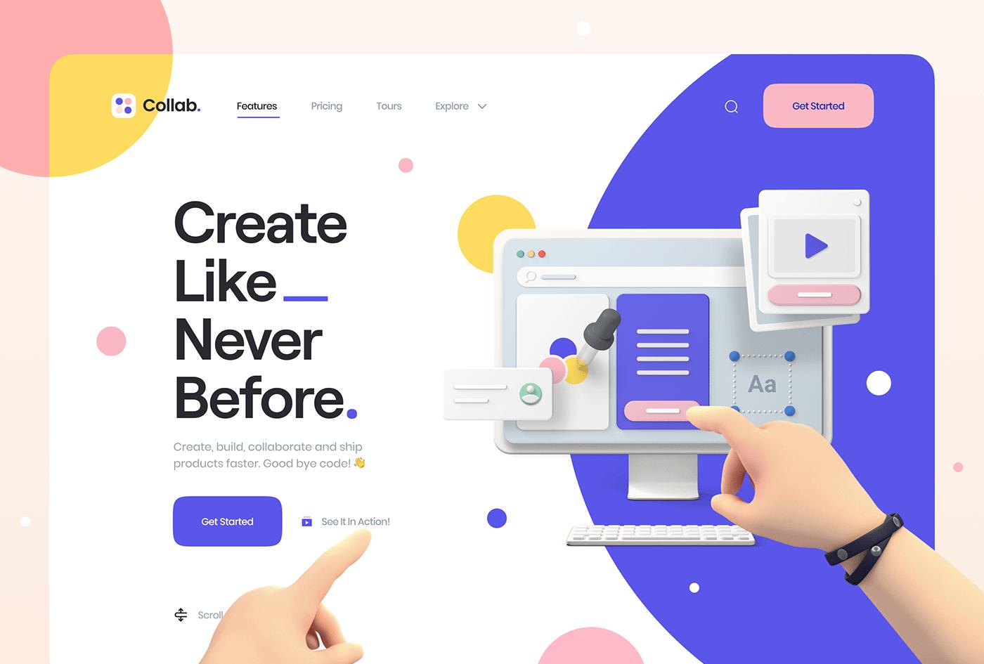 3d web design