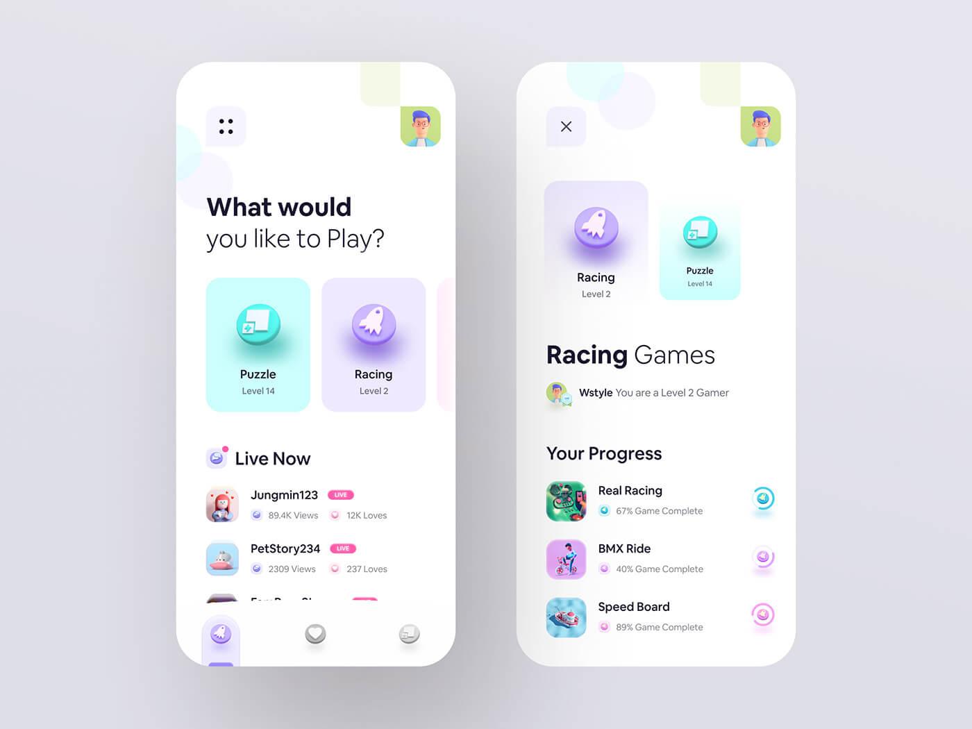 Мобильное приложение дизайн