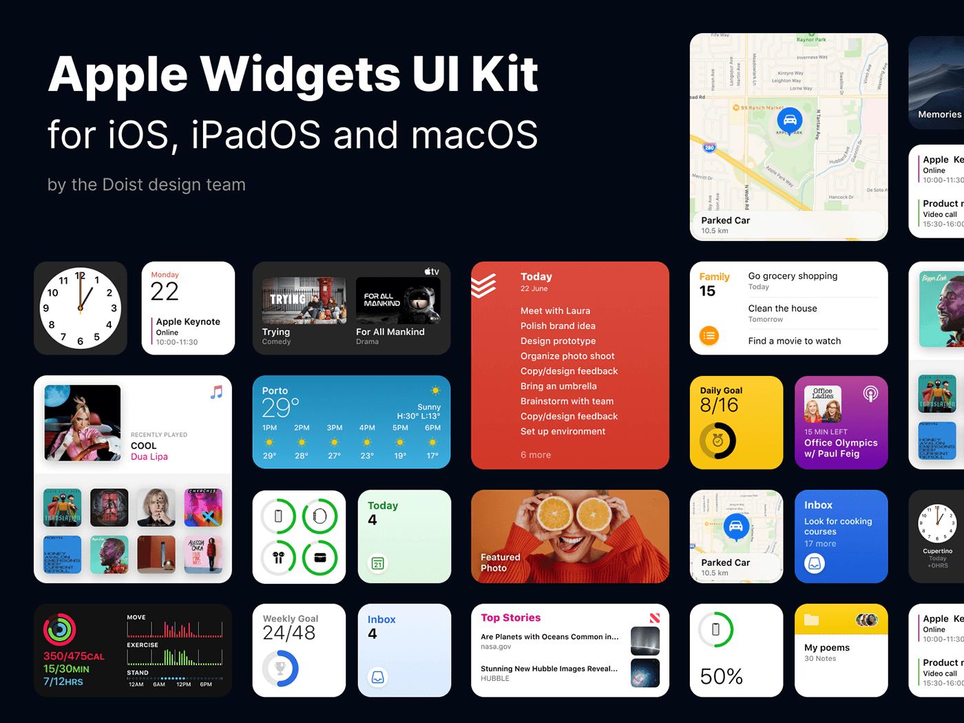 Widget size