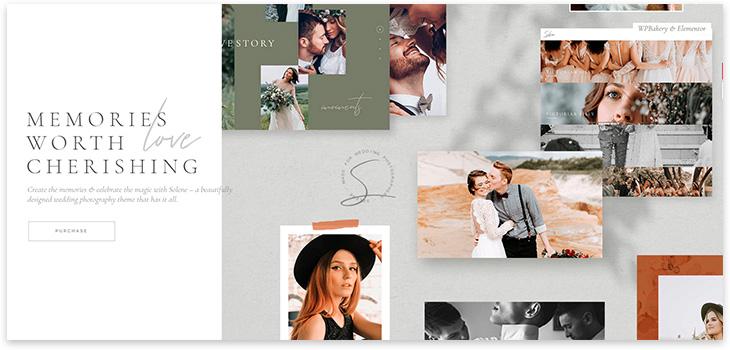 34 шаблона для сайта фотографа на WordPress 2021