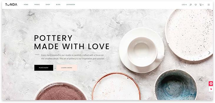 Шаблон сайта минимализм