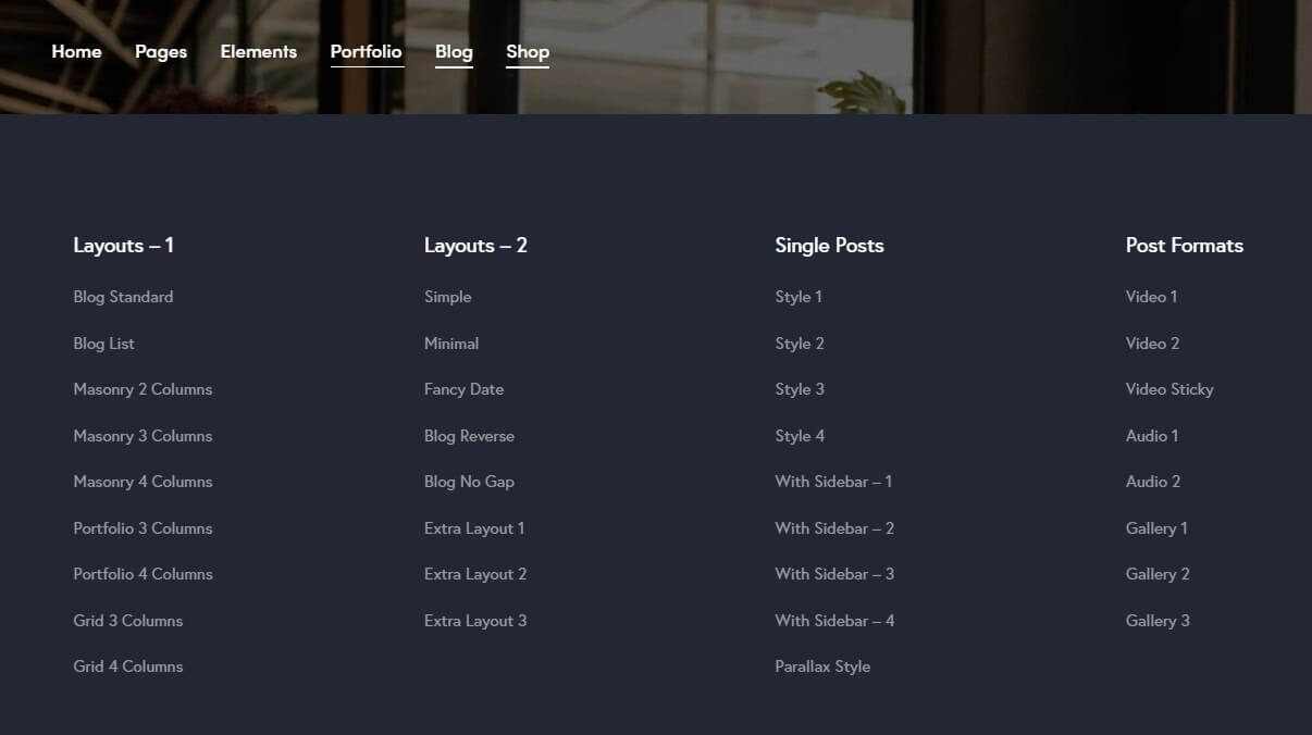 Разный дизайн для страниц и постов