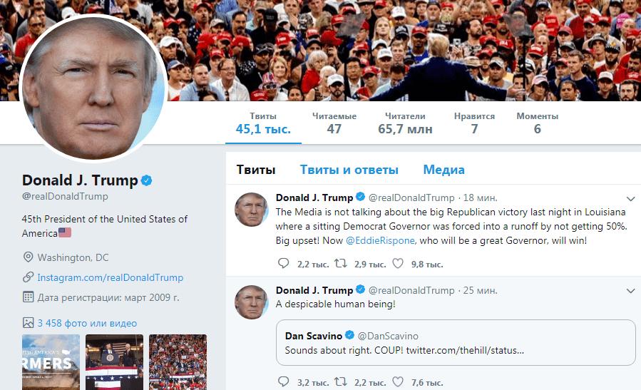 Пример бренда Трампа